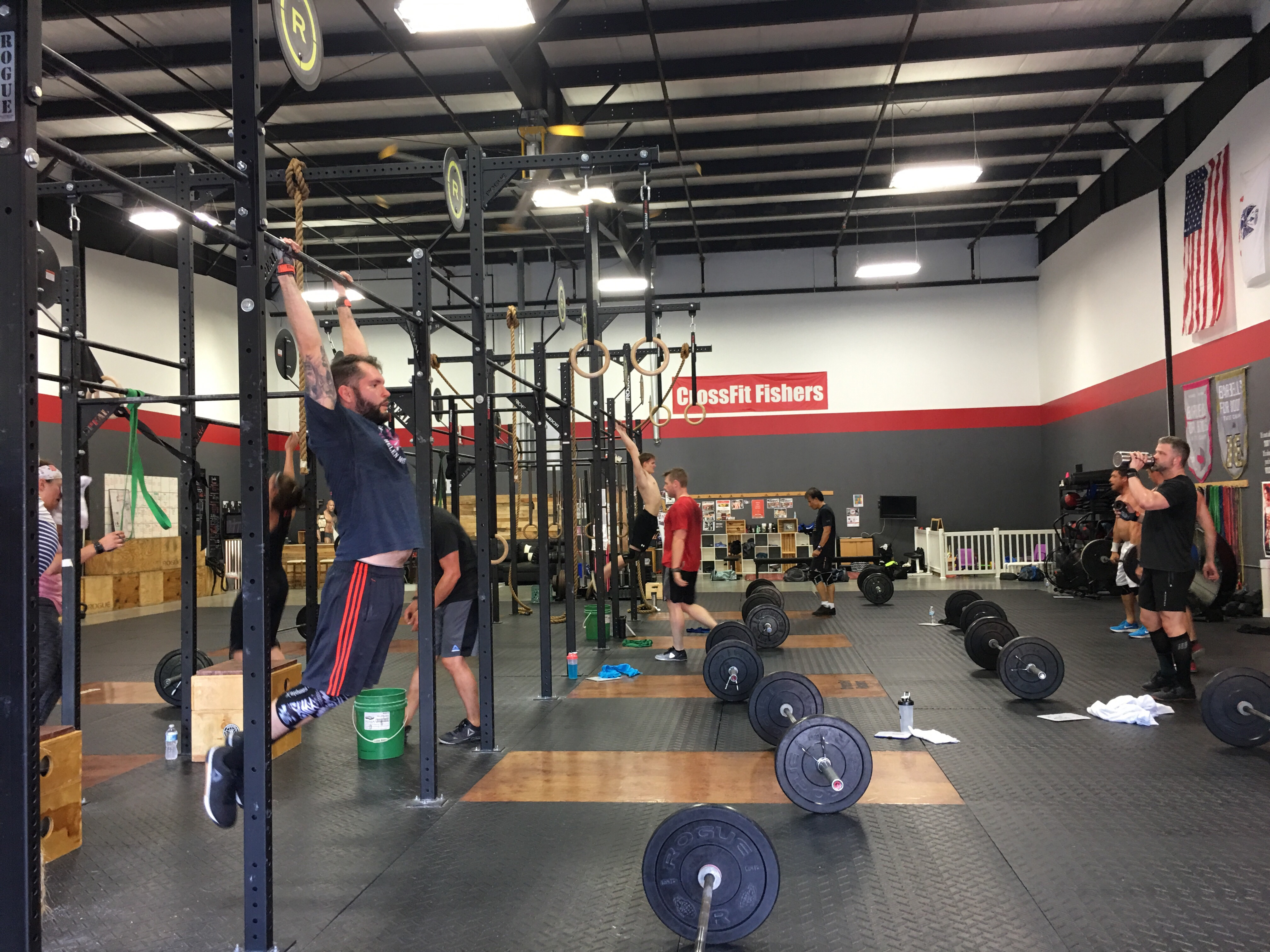 crossfit fishers – making a better you!